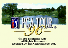 PGA Tour 96 title screenshot