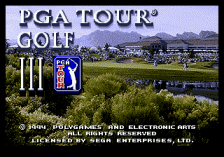 PGA Tour Golf III title screenshot