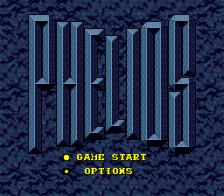 Phelios title screenshot