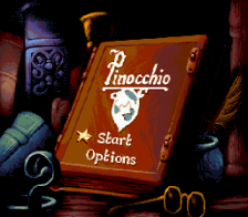Pinocchio title screenshot