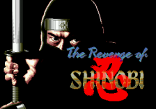 Revenge of Shinobi, The title screenshot
