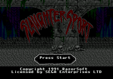 Slaughter Sport title screenshot