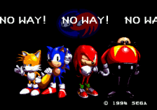Sonic & Knuckles + Sonic The Hedgehog title screenshot