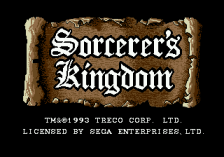 Sorcerer's Kingdom title screenshot