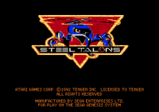 Steel Talons title screenshot