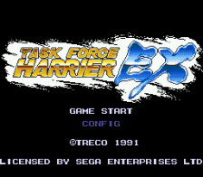 Task Force Harrier EX title screenshot
