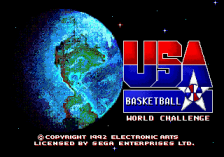 Team USA Basketball title screenshot