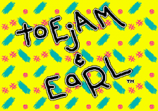 ToeJam & Earl title screenshot
