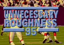 Unnecessary Roughness '95 title screenshot