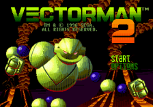 Vectorman 2 title screenshot