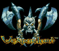 WeaponLord title screenshot