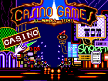 Casino Games title screenshot