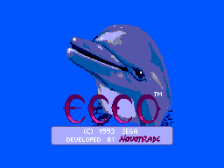 Ecco the Dolphin title screenshot