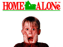 Home Alone title screenshot