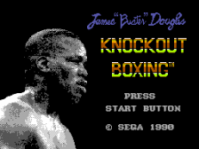 James 'Buster' Douglas Knockout Boxing title screenshot