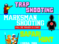 Marksman Shooting & Trap Shooting & Safari Hunt title screenshot