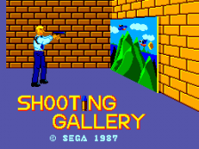 Shooting Gallery title screenshot