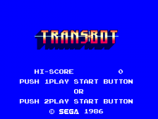 TransBot title screenshot