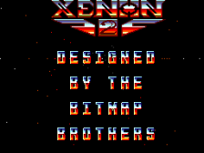 Xenon 2 - Megablast title screenshot