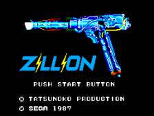 Zillion title screenshot