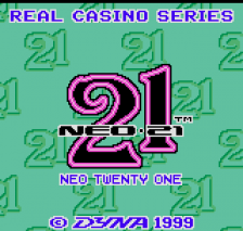 Neo 21 - Real Casino Series title screenshot