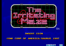 Irritating Maze, The title screenshot