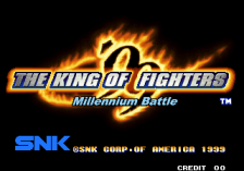 King of Fighters '99 Millennium Battle, The title screenshot