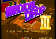 Magical Drop 3 title screenshot