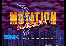 Mutation Nation title screenshot