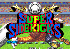 Super Sidekicks title screenshot