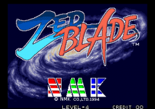Zed Blade : Operation Ragnarok title screenshot