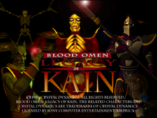 Blood Omen - Legacy of Kain title screenshot