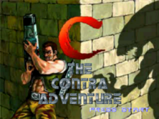 C - The Contra Adventure title screenshot