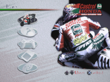 Castrol Honda Superbike Racing title screenshot