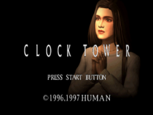 Clock Tower title screenshot