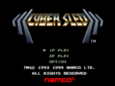 CyberSled title screenshot