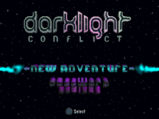 Darklight Conflict title screenshot