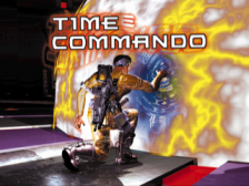 Time Commando title screenshot