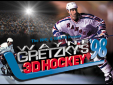 Wayne Gretzky's 3D Hockey '98 title screenshot