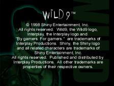 Wild 9 title screenshot