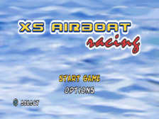 XS Airboat Racing title screenshot