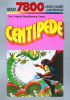 Centipede Atari 7800 cover artwork