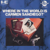 Where in the World Is Carmen Sandiego ? NEC PC Engine CD cover artwork