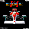 F1 Triple Battle NEC PC Engine cover artwork