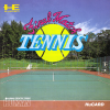 Final Match Tennis NEC PC Engine cover artwork