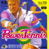 Power Tennis NEC PC Engine cover artwork