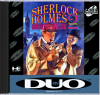Sherlock Holmes Consulting Detective Vol. 2 NEC TurboGrafx 16 CD cover artwork