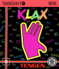 Klax NEC TurboGrafx 16 cover artwork