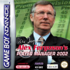 Alex Ferguson's Player Manager 2002 Nintendo Game Boy Advance cover artwork