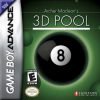 Archer Maclean's 3D Pool Nintendo Game Boy Advance cover artwork